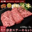 肉 ステーキ ギフト 松阪牛 黒毛和牛 赤身セット A5A4 100g×3枚入り