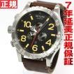 ニクソン(NIXON) 51-30クロノレザー CHRONO 腕時計 メンズ クロノグラフ NA124019-00