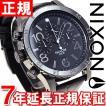 ニクソン(NIXON) 48-20クロノレザー CHRONO 腕時計 メンズ クロノグラフ NA3631886-00