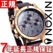 ニクソン(NIXON) 48-20クロノレザー CHRONO 腕時計 メンズ クロノグラフ NA3632001-00
