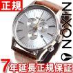 ニクソン(NIXON) セントリークロノレザー SENTRY 腕時計 メンズ クロノグラフ NA4051888-00