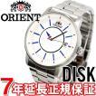 オリエント ディスク 腕時計 メンズ 自動巻き トリコロール WV0771ER