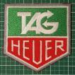 時計好きな方にオススメ! 「TAG HEUER(タグホイヤー)」人気の企業ロゴワッペン アイロンパッチ 定型郵便送料無料