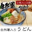せんチャンファーム 自然薯 うどん 2食入×2袋 送料無料 メール便 代引き不可 三原ブランド 広島県