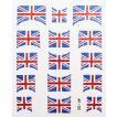 ネイルシール きらきら逆フレンチイギリス国旗 AF02