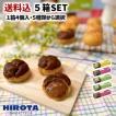 洋菓子のヒロタ シュークリーム5箱セット[1箱4個入][計20個入]