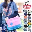チャムス CHUMS ショルダーバッグ スクエアショルダーバッグ スウェットナイロン Square Shoulder Bag Sweat Nylon CH60-2119