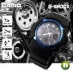 CASIO カシオ 腕時計 G-SHOCK G-ショック 電波 マルチバンド6 タフソーラー AWG-M100A-1A ブルー×ブラック 海外モデル