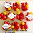 トマト ミニトマト 新鮮 生産者直送 赤と黄色のミニトマトが一つのカップに入ったカップミックス10カップセット