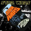 STAR WARS キーカバー・ボールチェーン スターウォーズロゴ SWKEY-01