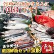 絶対お得!厳選鮮魚セット宝船5400円コース
