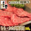 バーベキュー 牛肉 飛騨牛 もも・かた肉 焼肉用 500g1パック BBQ 食材 にく 黒毛和牛 冷凍