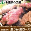 千歳ラム工房 ジンギスカン 生ラム 500g 肩ロース 北海道 ラム肉 ギフト 自宅用 肉 バーベキュー お取り寄せ