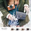 Herringnone/ヘリンボーン CAMERA BAG/TINY MELLOW CANVAS 4colors おしゃれショルダーカメラバッグ メンズ レディース