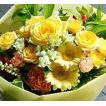 父の日 プレゼント  花束 プレゼント 誕生日 おまかせイエロー、オレンジ 花束 父の日 プレゼント  母の日