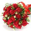 花束 赤バラの花束 本数を選べるバラの花束 誕生日や卒業 送別 プレゼント 卒業 送別 ご就任祝い