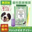 マジックゼオ  デイリー 40cc ペット用 犬 歯の黄ばみ 歯垢 除去 歯磨き粉 ジェル 口臭 予防 歯磨き 歯周病予防 デンタルケア