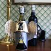 輸入雑貨/ワインホルダー/ブリキのワインホルダー/クリスマス/エンジェル