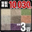 カーペット 3畳 防ダニカーペット 本間 三畳 絨毯 おしゃれ 安い 長方形 Hソフトイデア
