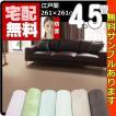 カーペット 4.5畳  防音 防ダニ 床暖対応 正方形 厚手 絨毯 江戸間 四畳半  おしゃれ 安い サウンドグロス