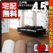 カーペット 4.5畳  防炎 防ダニ 床暖対応 日本製 正方形 厚手 絨毯 江戸間 四畳半  おしゃれ 安い スチームファー