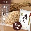 新米!玄米5kg コシヒカリ 「体によし」 野沢温泉村産 JAS有機