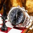 クロノグラフ シャルルホーゲル クロノグラフ 選べる2色 ブラック/ホワイトメンズ腕時計 CharlesVogeleギフト 男性用 クロノグラフ