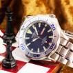 シャルルホーゲル 20気圧ダイバーウォッチ 選べる2色 ブルー/ブラックメンズ腕時計 CharlesVogeleギフト 男性用