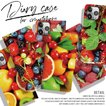 手帳型 iPhone Xperia Galaxy スマホケース 正規品 the JUICY HAWAII SUMMER BEACH SURF fruits フルーツ ALOHA