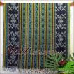 イカットベッドカバーシングル−45 アジアン雑貨 布織物 タペストリー