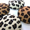 猫 ネコ ねこ キャット マグネット 手作り 布 猫柄 豹柄 (キャットマグネット)