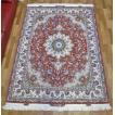 ペルシャ絨毯・タブリーズ、リビングサイズ 211×154cm 特価品