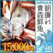 朝獲れ 鮮魚 セット 青森 尾駮漁港 15000円 贈り物 お歳暮 魚詰合せ