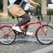 HANWA(阪和) 20インチ カラフル折りたたみ自転車 6段変速 カゴ/カギ/ライト付 TRAILER(トレイラー) BGC-F20-RD レッド