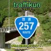 ミニチュア標識板トラフィックン 国道257号