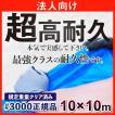 ブルーシート 厚手 防水 10m×10m サイズ 規格 #3000 正規品 1枚 法人様限定
