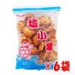 塩味 塩小亀×6袋セット 亀の甲せんべい 沖縄 駄菓子 玉木製菓