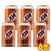 ルートビア A&W 6缶セット 炭酸飲料