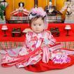 女児着物 十二単 かわいい ピンク 1歳 1-200