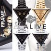 ALIVE WATCH アライブ 腕時計 時計 メンズ ALIVE ATHLETICS alive A-FRAME METAL A-フレーム・メタル アライヴ 時計 ウォッチ レディース メンズ