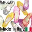 やわらかイタリア製 ラバーサンダル Rubb SICILY ラバーパンプス フラットサンダル