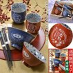 送料無料 名入れ プレゼント ギフト 有田焼 カラスノエンドウ 夫婦茶碗・湯のみ・お箸 豪華6点セット ペアセット