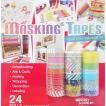 「マスキングテープ 24種類セット 巾1.5cm×10m」 24個セット バラエティーセット スクラップブッキング/デコレーション/