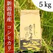 産地直送 新潟県産 平成30年産 おおしま育ち コシヒカリ 玄米 5k
