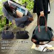 ボストンバッグ ショルダーバッグ 2way メンズ ドリンクホルダー付き 男性 ビジネス トラベル 旅行バッグ 1680デニールナイロン 白化合皮 Otias オティアス