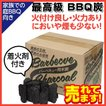 お庭 BBQ バーベキュー木炭 煙が少ない アウトドア くぬぎ炭使用 2kg 軍手付き 七輪 オススメ