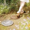 ステップストーン ピッグ 豚 アニマル pig  ガーデンプレート お庭 ガーデニング おしゃれ コイン DIY アンティーク