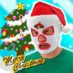 【40%OFF】クリスマスファイター   | クリスマス コスプレ 覆面 コスチューム クリスマス 仮装 | (068608)