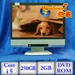 中古デスクトップパソコンNEC Mate MK25TG-E PC-MK25TGFCE Windows7 Professional 32bit Core i5 2.5GHz 2GB 250GB DVD-ROM 19インチ B0113D025 送料無料