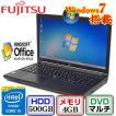 中古ノートパソコン富士通 LIFEBOOK A574/HX FMVA0501EP Windows7 Professional 32bit Core i5 2.6GHz 4GB 500GB DVDマルチ 15.6インチ B0426N031 送料無料